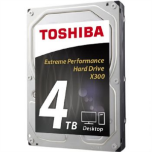 """Toshiba trdi disk 3,5"""" 4TB 7200 128MB X300 SATA 3"""
