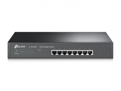 TP-LINK TL-SG1008 8-port Gigabit Desktop/Rackmount switch