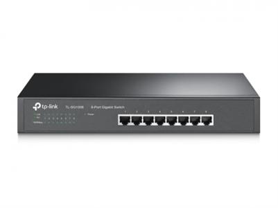 TP-LINK TL-SG1008 8-port Gigabit Desktop/Rackmount switch