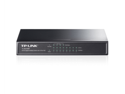 TP-LINK TL-SG1008P 8-port Gigabit Desktop Switch s 4-PoE porti