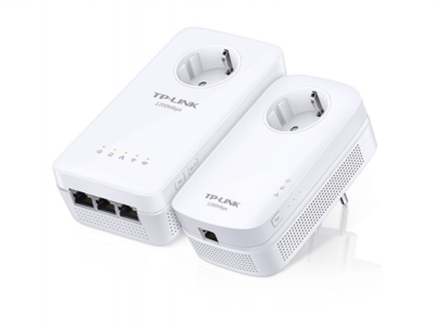 TP-LINK TL-WPA8630P KIT AV1200 Gigabit Passthrough Powerline ac Wi-Fi