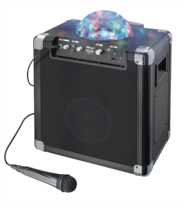 Trust Urban 21405 Fiesta Disco brezžični Bluetooth zvočnik z disko lučmi