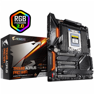 GIGABYTE TRX40 AORUS PRO WIFI, DDR4, SATA3, USB3.2Gen2, WiFi, TRX40 ATX