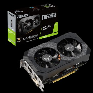 Grafična kartica ASUS GeForce GTX 1660 OC TUF GAMING, 6GB GDDR5, PCI-E 3.0