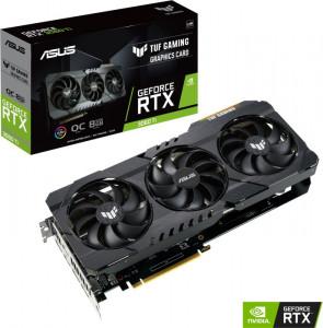 Grafična kartica ASUS GeForce RTX 3060 Ti GAMING OC TUF V2, 8GB GDDR6, PCI-E 4.0