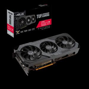 Grafična kartica ASUS TUF Radeon RX 5600 XT OC Evo Gaming, 6GB GDDR6, PCI-E 4.0