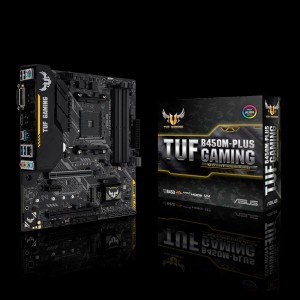 ASUS TUF B450M-PLUS GAMING, DDR4, SATA3, USB3.1Gen2, HDMI, AM4 mATX