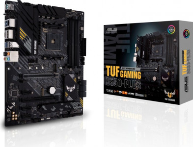 ASUS TUF GAMING B550-PLUS, DDR4, SATA3, USB3.2Gen2, DP, AM4 ATX