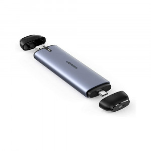 Ugreen USB-C in USB-A ohišje za M.2 NVMe SSD B-Key
