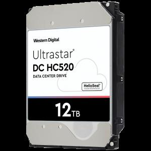 HGST/WD 12TB SATA 3 6GB/s 256MB 7200 ULTRASTAR DC HC520 512e