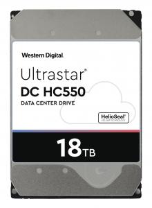 HGST/WD 18TB SATA 3 6GB/s 512MB 7200 ULTRASTAR DC HC550 512e