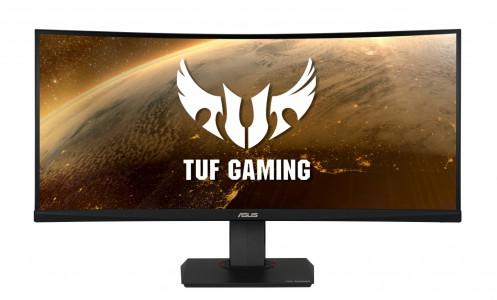 ASUS VG35VQ  35'' TUF Gaming ukrivljen monitor, 3440 x 1440, 1ms, 100Hz, DisplayPort, USB3.0