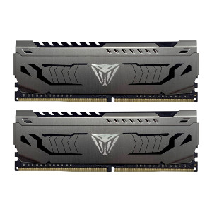 Patriot Viper Steel Kit 16GB (2x8GB) DDR4-3600 DIMM PC4-28800 CL18, 1.35V