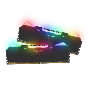 Patriot Viper RGB 16GB Kit (2x8GB) DDR4-3000 PC4-24000 CL15, 1.35V