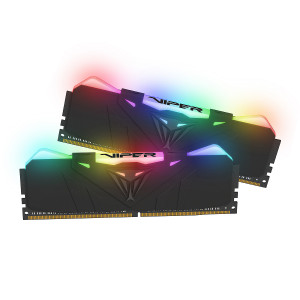 Patriot Viper RGB 16GB Kit (2x8GB) DDR4-4133 PC4-33000 CL19, 1.4V