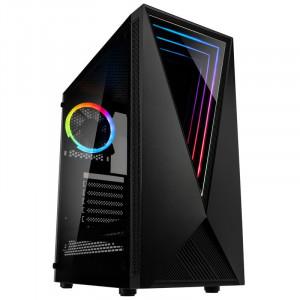 KOLINK VOID ATX RGB osvetljeno ohišje, črno