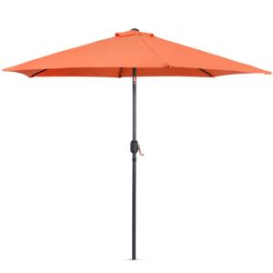 VonHaus senčnik 2.7m samostoječi oranžen