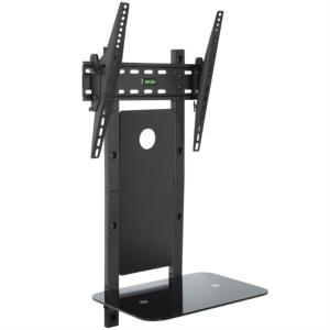Vonhaus 32-55'' nagibni TV stenski nosilec do 35 kg z steklenim podstavkom