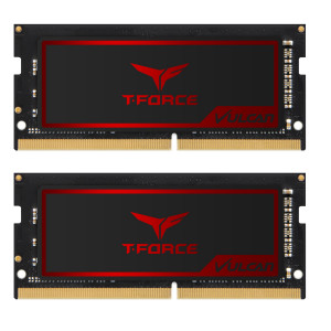 Teamgroup Vulcan 16GB Kit (2x8GB) DDR4-2666 SODIMM PC4-21300 CL18, 1.2V