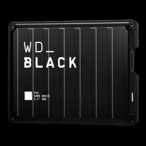 WD BLACK P10 5TB USB 3.0, črn