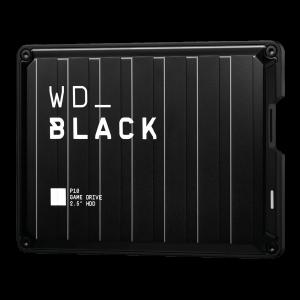 WD BLACK P10 4TB USB 3.0, črn