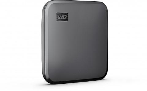WD 480GB ELEMENTS SE SSD, USB 3.0