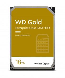 WD trdi disk RE 18TB SATA 3, 6Gbs, 7200rpm, 512MB GOLD