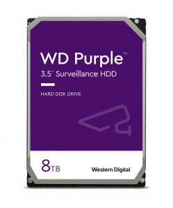 WD PURPLE 8TB SATA3, 6Gb/s, 5640, 128MB