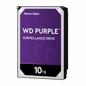 WD PURPLE 10TB SATA3, 6Gb/s, 7200, 256MB