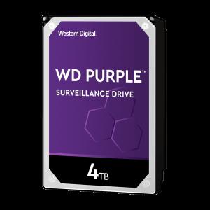 WD PURPLE 4TB SATA3, 6Gb/s, 5400, 64MB