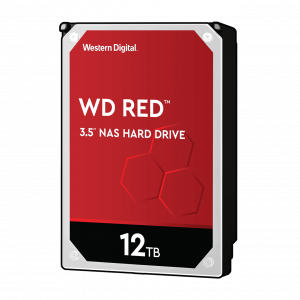 WD trdi disk 12TB SATA3, 6Gb/s, 5400, 256MB RED