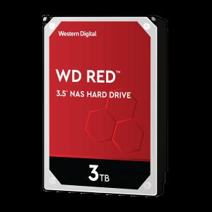 WD trdi disk 3TB SATA3, 6Gb/s, Intellipower, 64MB RED