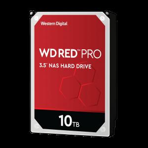 WD trdi disk 10TB SATA3, 6Gb/s, 7200, 256MB RED PRO