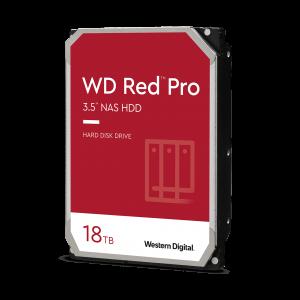 WD trdi disk 18TB SATA3, 6Gb/s, 7200, 512MB RED PRO