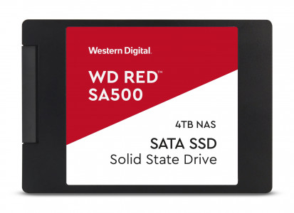 "WD 4TB SSD RED 3D NAND 6,35(2,5"") SATA3"