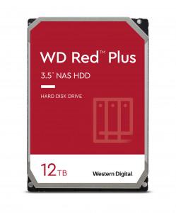 WD trdi disk 12TB SATA3, 6Gb/s, 7200, 256MB RED PLUS