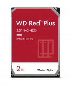 WD trdi disk 2TB SATA3, 6Gb/s, 5400obr, 128MB RED PLUS