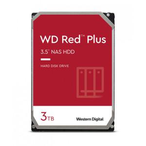 WD trdi disk 3TB SATA3, 6Gb/s, 5400obr, 128MB RED PLUS