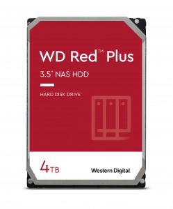 WD trdi disk 4TB SATA3, 6Gb/s, 5400obr, 128MB RED