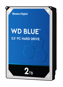 WD trdi disk 2TB 5400RPM 256MB 6GB/S BLUE