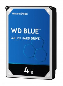 WD trdi disk 4TB 5400RPM 256MB 6GB/S BLUE