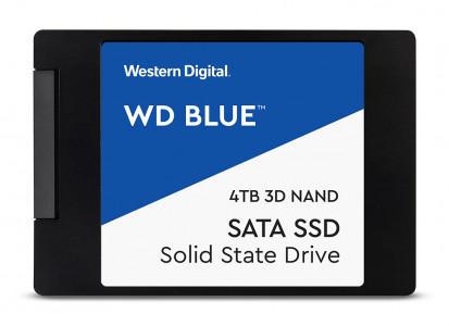 """WD 4TB SSD BLUE 3D NAND 6,35(2,5"""") SATA3"""