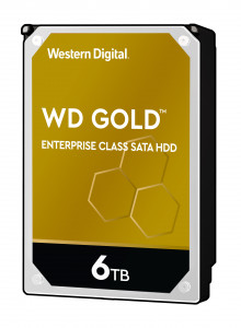 WD trdi disk RE 6TB SATA 3, 6Gbs, 7200rpm, 128MB GOLD