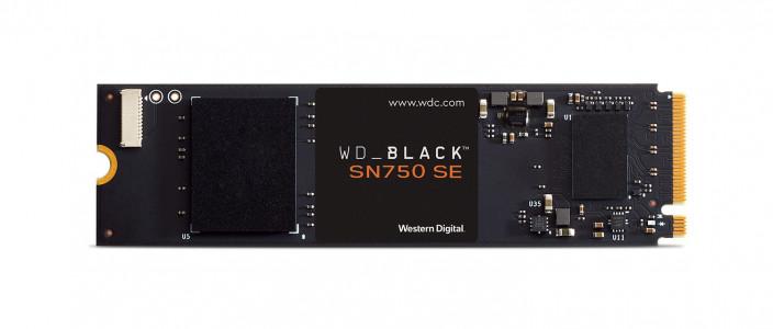 WD 500GB SSD BLACK SN750 SE M.2 NVMe Gen4