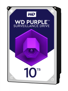 WD PURPLE 10TB SATA3, 6Gb/s, 5400, 256MB