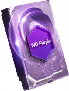 WD PURPLE 1TB SATA3, 6Gb/s, 5400, 64MB