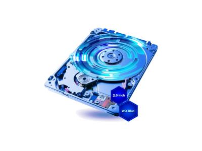 WD trdi disk 1TB SATA 3, 5400 128MB 2.5'', Blue