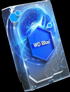 WD trdi disk 2TB 5400RPM 64MB 6GB/S BLUE