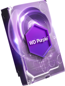 WD PURPLE 2TB SATA3, 6Gb/s, 5400, 64MB