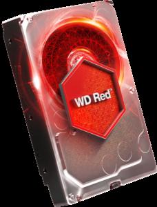 WD trdi disk 3TB SATA3, 6Gb/s, 5400, 64MB RED